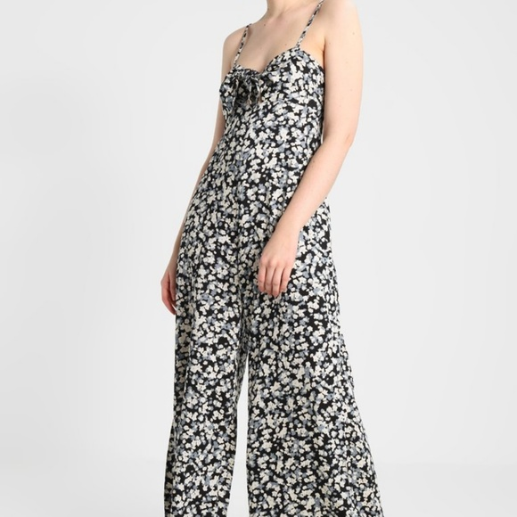 Billabong Pants - NWT billabong floral playsuit